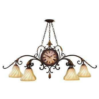 Fine Art Lamps Castile 302040ST Six-Light 52'' Wide Grand Chandelier