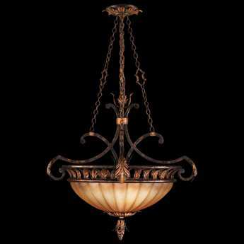 Fine Art Lamps Brighton Pavillion 303840ST Three-Light Pendant