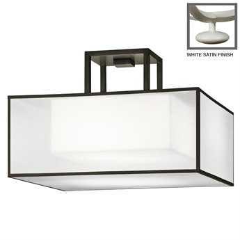 Fine Art Lamps Black + White Story 330740-5ST Two-Light Semi-Flush Mount Light