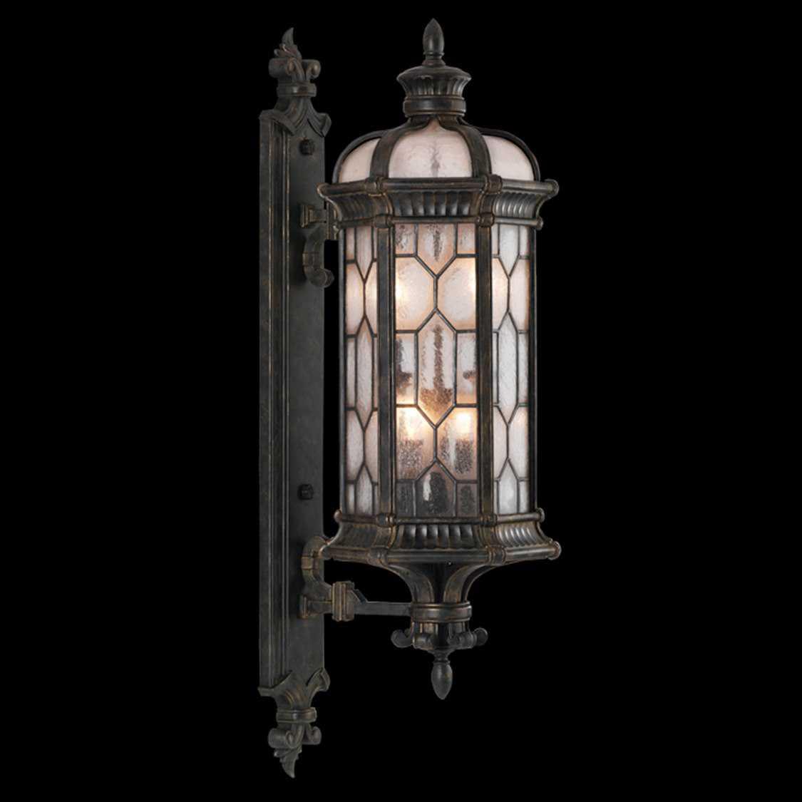 fine art lamps devonshire 413981st four light outdoor wall. Black Bedroom Furniture Sets. Home Design Ideas