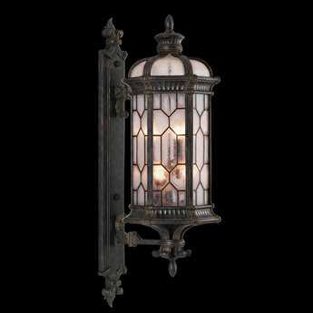 Fine Art Lamps Devonshire 414081ST Six-Light Outdoor Wall Light