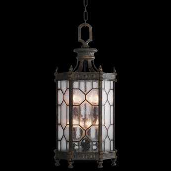 Fine Art Lamps Devonshire 414282ST Eight-Light Outdoor Hanging