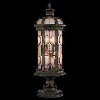 Fine Art Lamps Devonshire 414483ST Four-Light Outdoor Post Light