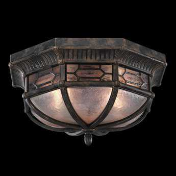 Fine Art Lamps Devonshire 414882ST Two-Light Outdoor Ceiling Light