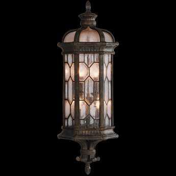 Fine Art Lamps Devonshire 414981ST Three-Light Outdoor Wall Light