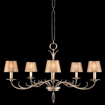 Fine Art Lamps Portobello Road 418740ST Five-Light 35'' Wide Grand Chandelier