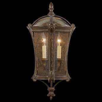 Fine Art Lamps Gramercy Park 574781ST Two-Light Outdoor Wall Light