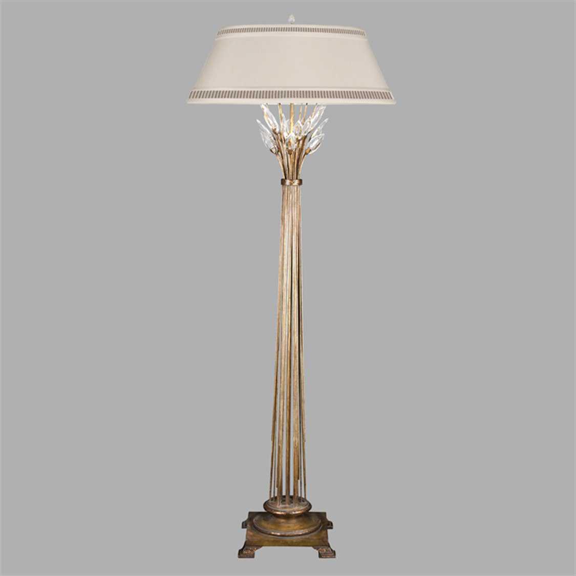 Fine Art Lamps Crystal Laurel Gold 772520st Floor Lamp