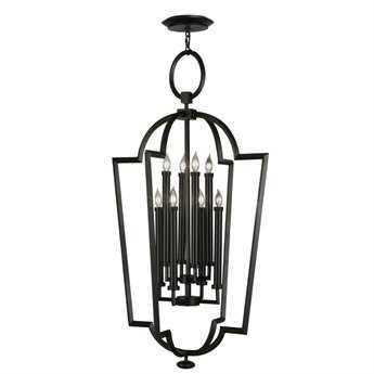 Fine Art Lamps Black + White Story 780440-6ST Eight-Light Pendant