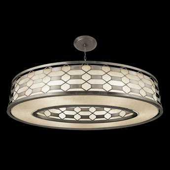 Fine Art Lamps Allegretto Silver 787740GU Five-Light Pendant
