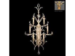 Fine Art Lamps Beveled Arcs Gold 789350-2ST Eight-Light Wall Sconce