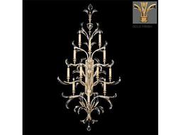 Fine Art Lamps Beveled Arcs Gold 789450-2ST 12-Light Wall Sconce
