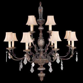 Fine Art Lamps Stile Bellagio 808940ST 12-Light 40'' Wide Grand Chandelier