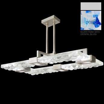 Fine Art Lamps Crystal Bakehouse 819240-22ST Four-Light Pendant