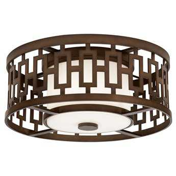 Fine Art Lamps River Oaks 838682ST Three-Light Outdoor Ceiling Light