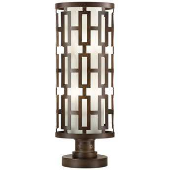 Fine Art Lamps River Oaks 838880ST Four-Light Outdoor Post Light