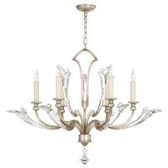Fine Art Lamps ice Sculpture 855340ST Six-Light Grand Chandelier