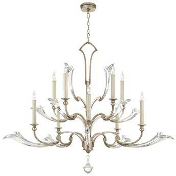 Fine Art Lamps ice Sculpture 856040ST Ten-Light Grand Chandelier