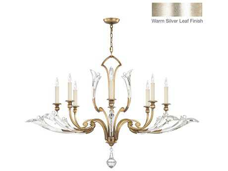 Fine Art Lamps Ice Sculpture 863740ST Eight-Light 52 wide Grand Chandelier