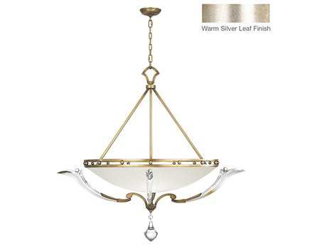 Fine Art Lamps Ice Sculpture 864040ST Three-Light Pendant
