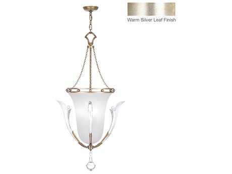 Fine Art Lamps Ice Sculpture 864140ST Three-Light Pendant