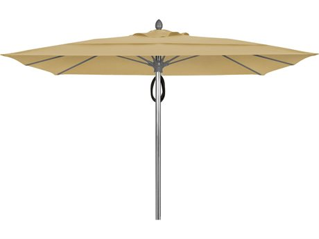 Fiberbuilt Umbrellas Prestige Riva 10' Pulley Lift No Tilt Patio Umbrella