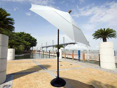 Fiberbuilt Home 7.5' Hexagon Tilt Aluminum Umbrella