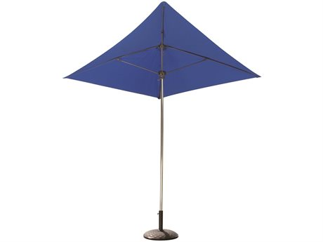 Fiberbuilt Umbrellas Prestige Nitro 7' Push Up Lift No Tilt Patio Umbrella