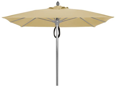 Fiberbuilt Umbrellas Prestige Riva 7.5' Pulley Lift No Tilt Patio Umbrella