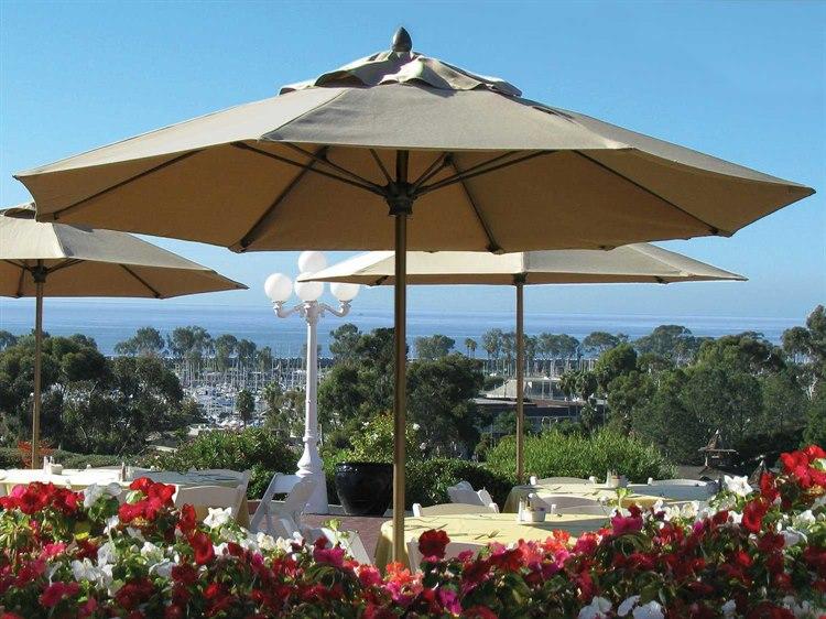 Fiberbuilt Market Pulley 9' Octagon Aluminum Umbrella