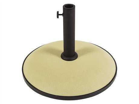 Fiberbuilt Concrete Beige 19'' 55 Pound Umbrella Base PatioLiving
