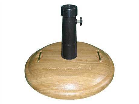 Fiberbuilt Concrete Basket Weave 19'' 55 Pound Umbrella Base