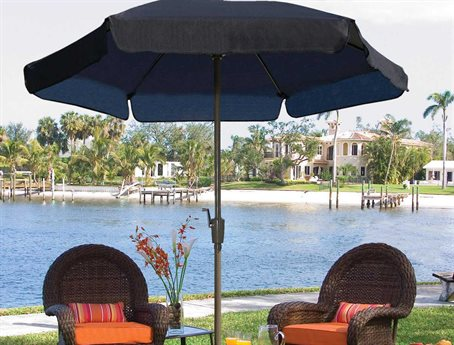 Fiberbuilt Home 7.5' Hexagon Aluminum Umbrella FB7GCR