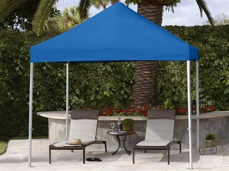 Fiberbuilt Umbrellas 10' Square Aluminum Deluxe Tent with Canopy