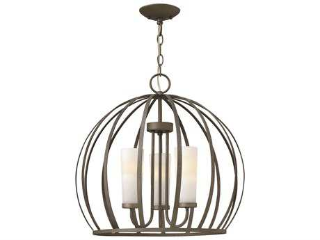 Fredrick Ramond Renata Blacksmith Three-Light 20 Wide Mini-Chandelier