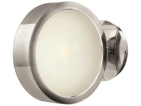 Fredrick Ramond Broadway Polished Aluminum Wall Sconce