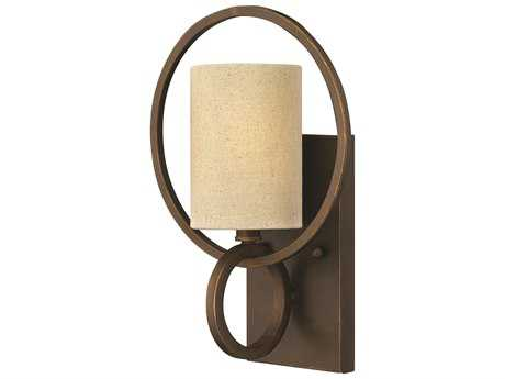 Fredrick Ramond Pandora Brushed Cinnamon Wall Sconce