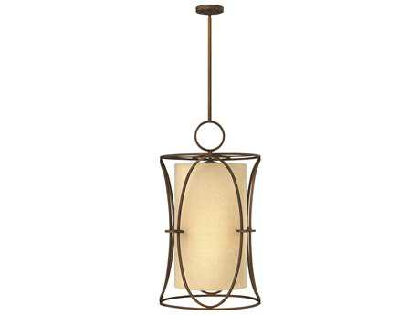 Fredrick Ramond Pandora Brushed Cinnamon Six-Light Pendant Light