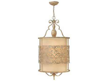 Fredrick Ramond Carabel Brushed Champagne Four-Light Pendant Light