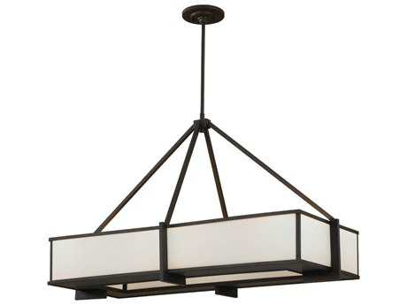 Feiss Stelle Oil Rubbed Bronze Six-Light Island Light