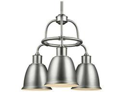 Feiss Hobson Satin Nickel 21.5'' Wide Three-Light Mini-Chandelier