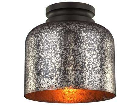 Feiss Hounslow Oil Rubbed Bronze Flush Mount Light