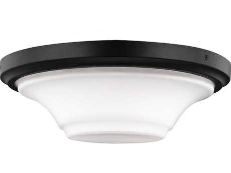 Feiss Summerdale Oil Rubbed Bronze Three-Light Flush Mount Light