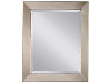 Feiss Galaxy 28 x 34 Silver Leaf Wall Mirror