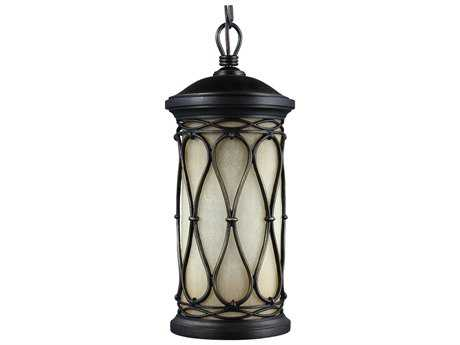 Feiss Wellfleet Aged Bronze Outdoor Hanging Light Outdoor Pendant Light