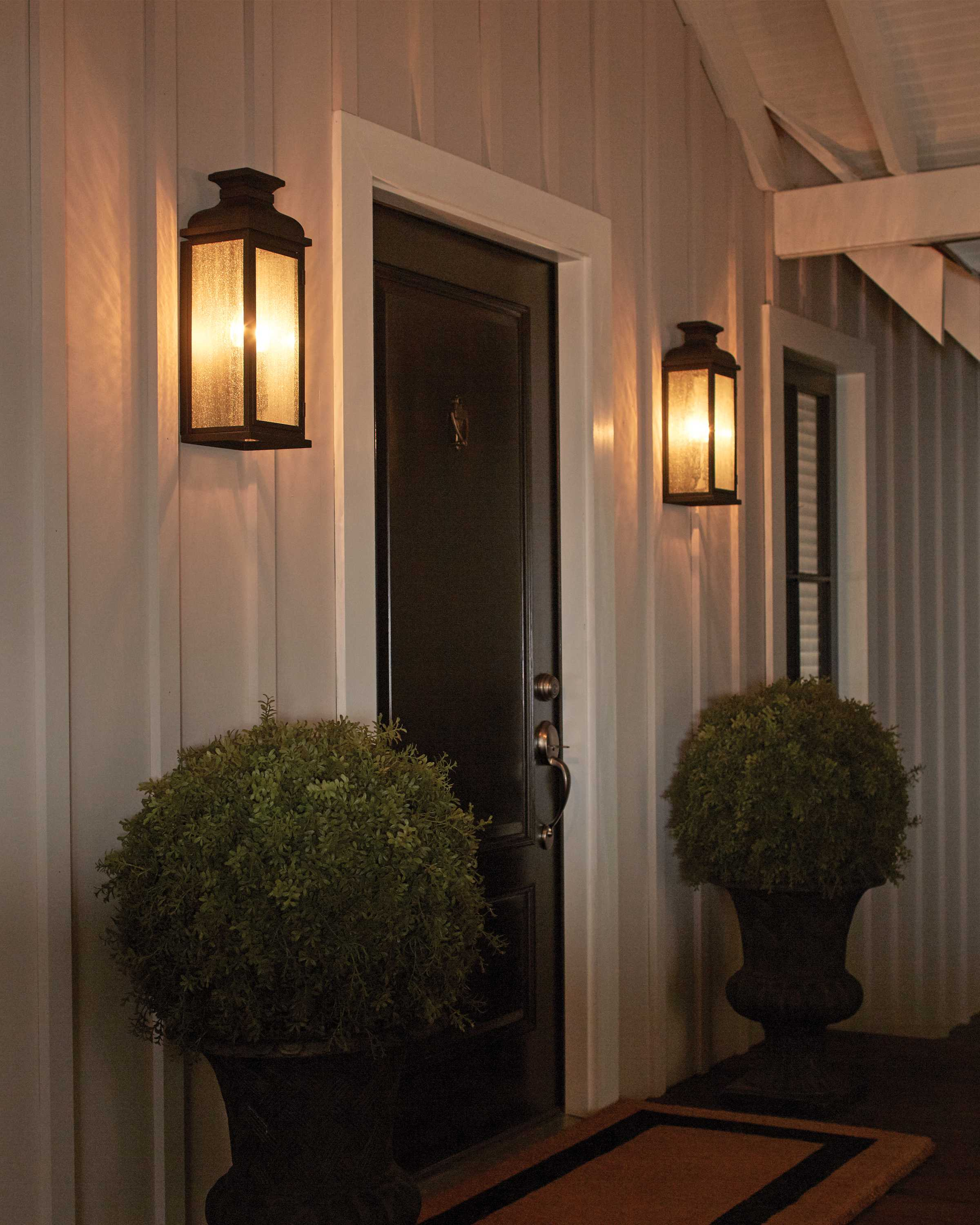 Murray Feiss Post Base: Feiss Pediment Dark Aged Copper Two-Light Outdoor Post