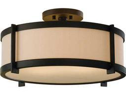 Feiss Stelle Oil Rubbed Bronze Two Light 16 Wide Semi