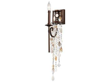 Feiss Cascade Heritage Bronze 5'' Wide Wall Sconce