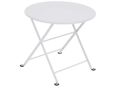 Fermob Tom Pouce 22'' Wide Steel Round Bistro Table - Kid Sized