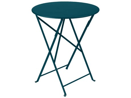 Fermob Bistro 24'' Wide Steel Round Table